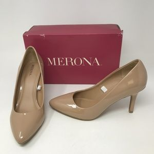 Merona Alexis Patent Leather Pointed High Heels 8
